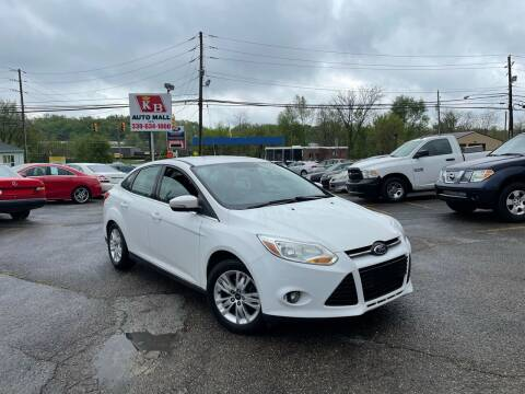 2012 Ford Focus for sale at KB Auto Mall LLC in Akron OH