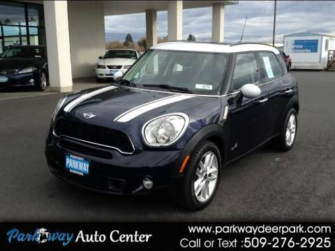2012 MINI Cooper Countryman for sale at PARKWAY AUTO CENTER AND RV in Deer Park WA
