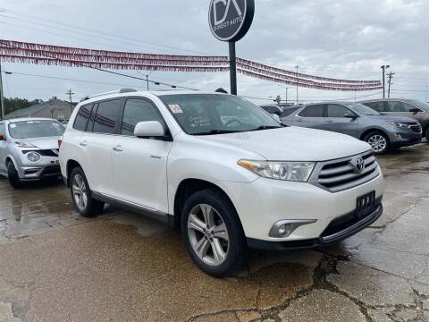 2013 Toyota Highlander for sale at Direct Auto in D'Iberville MS