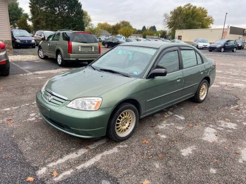 2003 Honda Civic for sale at US5 Auto Sales in Shippensburg PA