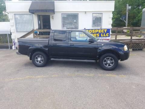 2004 Nissan Frontier for sale at Prospect Motors LLC in Adamsville AL
