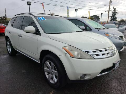 2006 Nissan Murano for sale at Universal Auto Sales in Salem OR