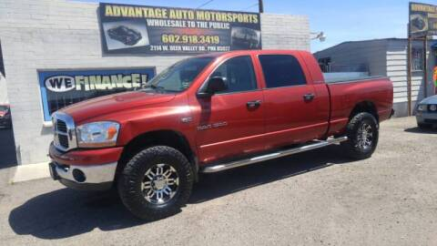 2006 Dodge Ram Pickup 1500 for sale at Advantage Motorsports Plus in Phoenix AZ