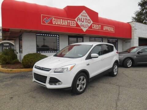 2016 Ford Escape for sale at Oak Park Auto Sales in Oak Park MI