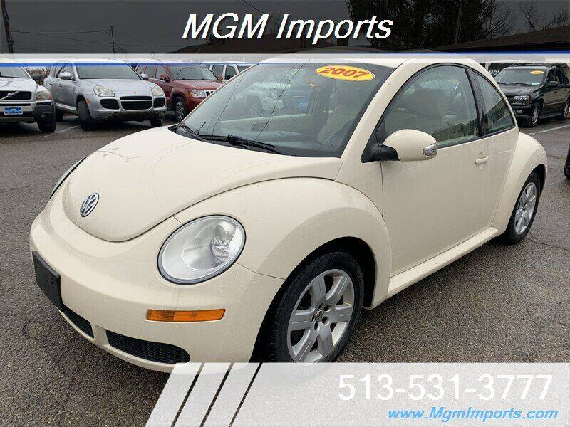 2007 Volkswagen New Beetle for sale at MGM Imports in Cincannati OH