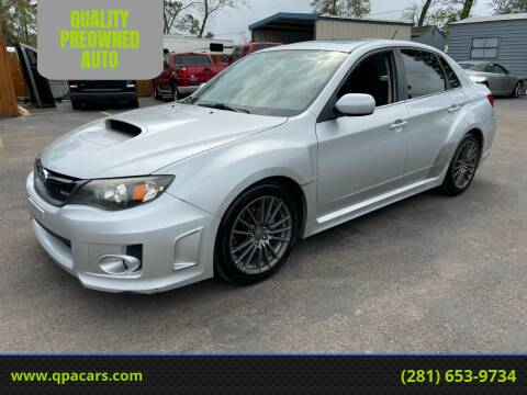 2011 Subaru Impreza for sale at QUALITY PREOWNED AUTO in Houston TX