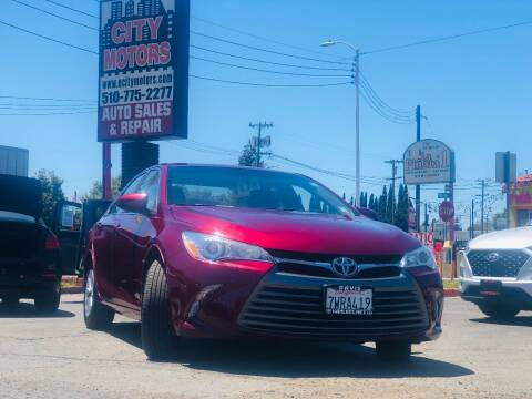 2017 Toyota Camry for sale at City Motors in Hayward CA