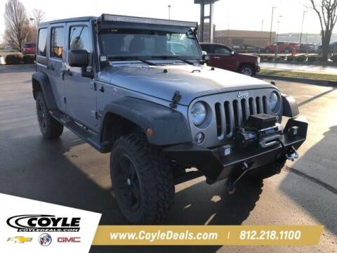 2015 Jeep Wrangler Unlimited for sale at COYLE GM - COYLE NISSAN in Clarksville IN