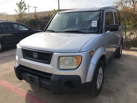 2006 Honda Element for sale at Auto Access in Irving TX