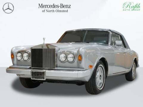 1988 Rolls-Royce Corniche for sale at Mercedes-Benz of North Olmsted in North Olmstead OH