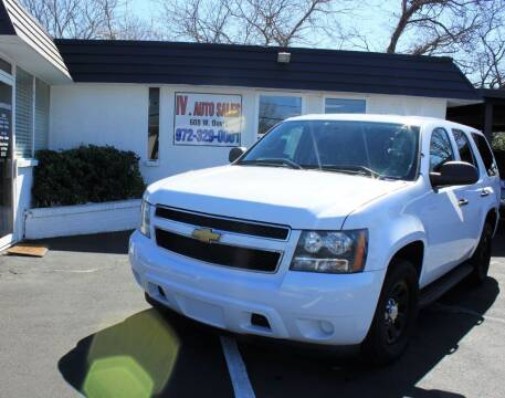 2012 Chevrolet Tahoe for sale at IV AUTO SALES in Mesquite TX