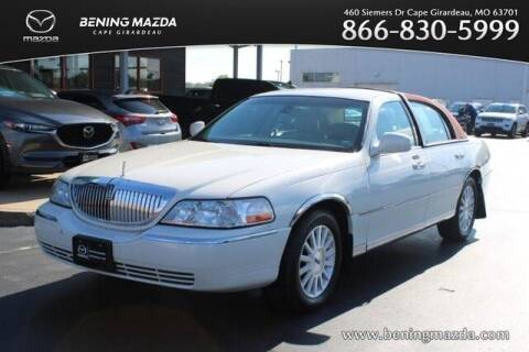 2003 Lincoln Town Car for sale at Bening Mazda in Cape Girardeau MO