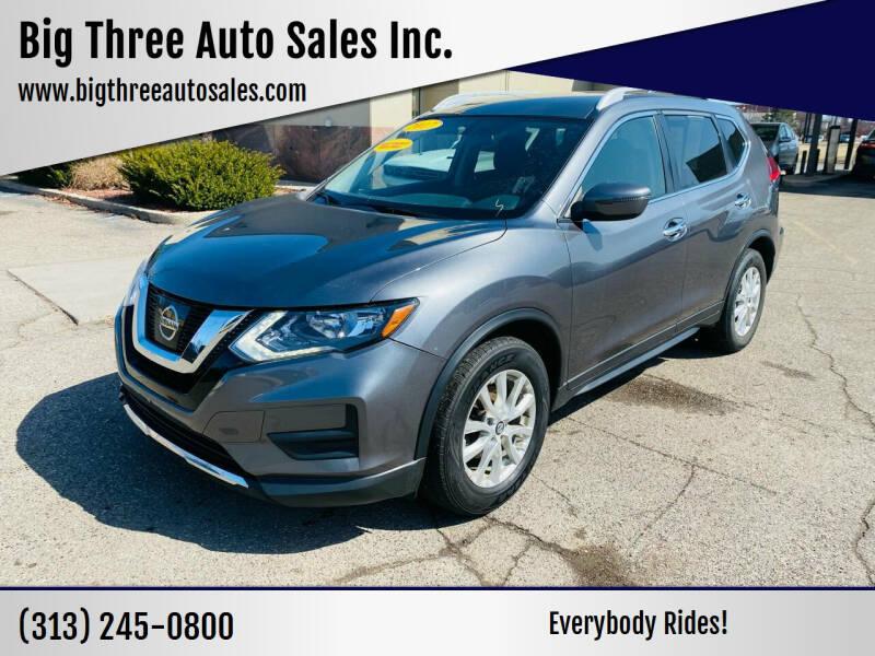 2017 Nissan Rogue for sale at Big Three Auto Sales Inc. in Detroit MI