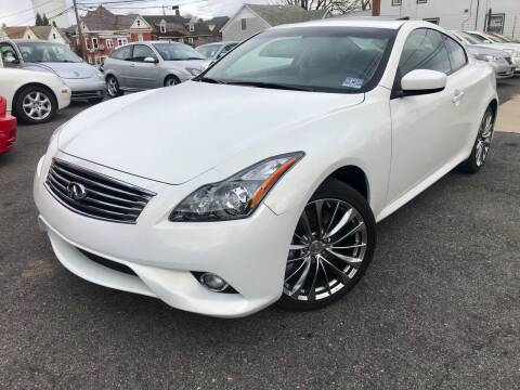 2013 Infiniti G37 Coupe for sale at Majestic Auto Trade in Easton PA