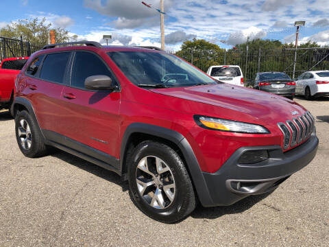 2015 Jeep Cherokee for sale at SKY AUTO SALES in Detroit MI