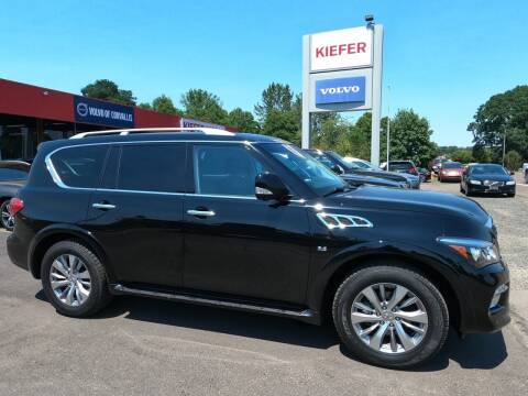 2017 Infiniti QX80 for sale at Kiefer Nissan Budget Lot in Albany OR