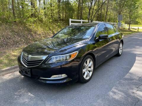 2014 Acura RLX for sale at Premier Auto Solutions & Sales in Quinton VA