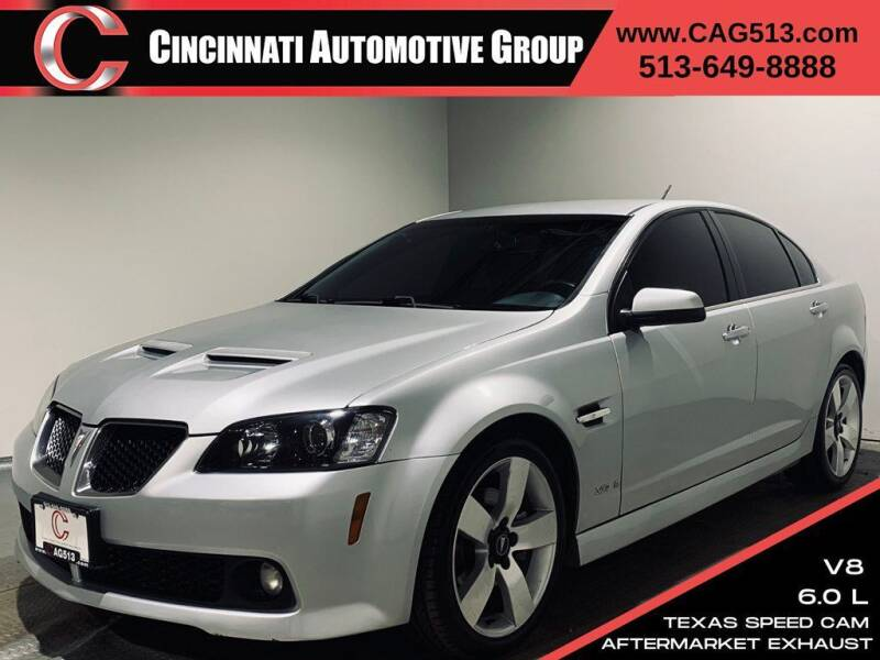 2009 Pontiac G8 for sale at Cincinnati Automotive Group in Lebanon OH