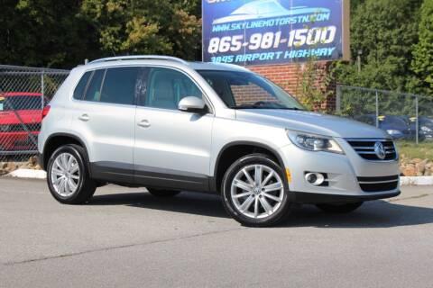 2011 Volkswagen Tiguan for sale at Skyline Motors in Louisville TN