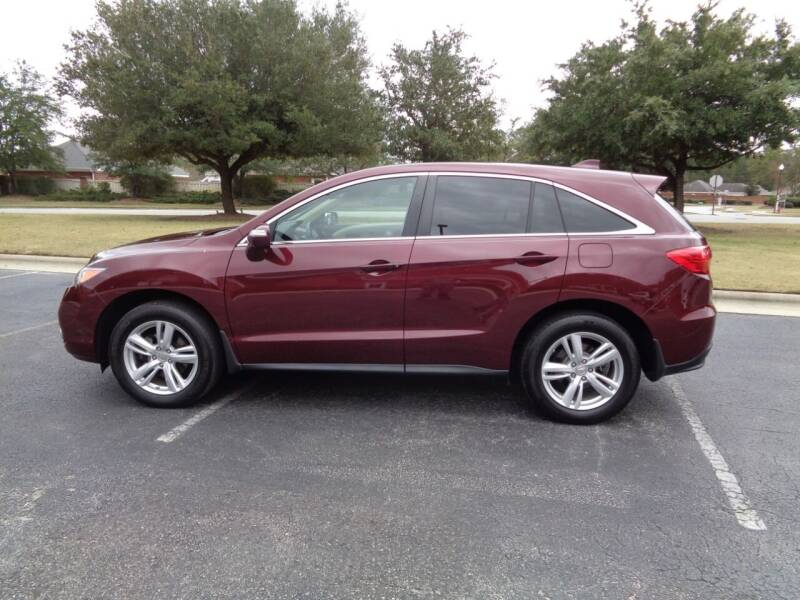 2013 Acura RDX for sale at BALKCUM AUTO INC in Wilmington NC