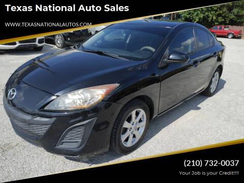 2010 Mazda MAZDA3 for sale at Texas National Auto Sales in San Antonio TX
