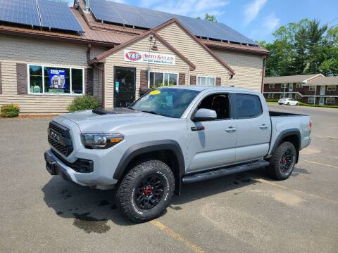 2017 Toyota Tacoma for sale at V & F Auto Sales in Agawam MA
