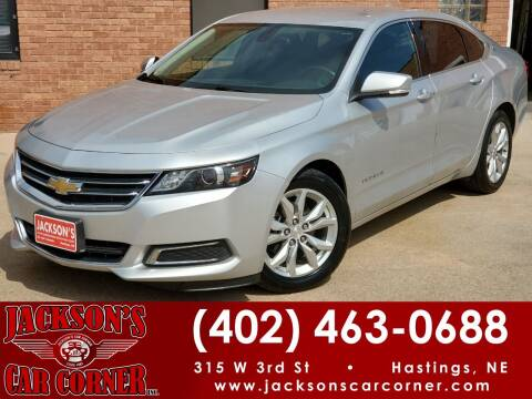 2017 Chevrolet Impala for sale at Jacksons Car Corner Inc in Hastings NE