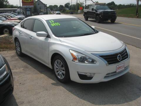 2013 Nissan Altima for sale at Joks Auto Sales & SVC INC in Hudson NH