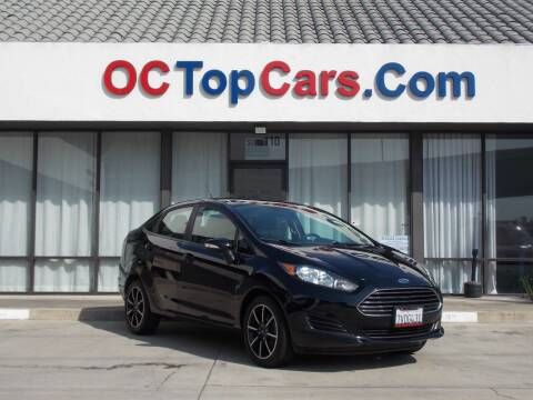 2016 Ford Fiesta for sale at OC Top Cars in Irvine CA