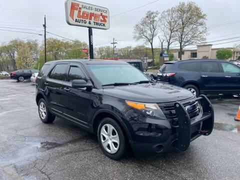 2015 Ford Explorer for sale at FIORE'S AUTO & TRUCK SALES in Shrewsbury MA