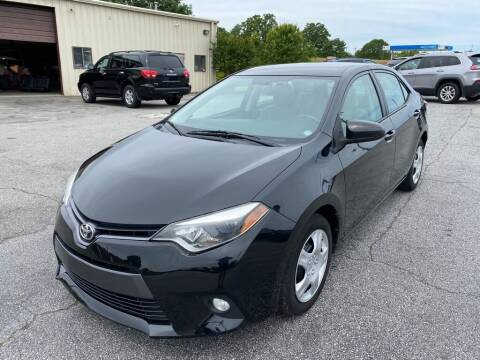 2015 Toyota Corolla for sale at Brewster Used Cars in Anderson SC