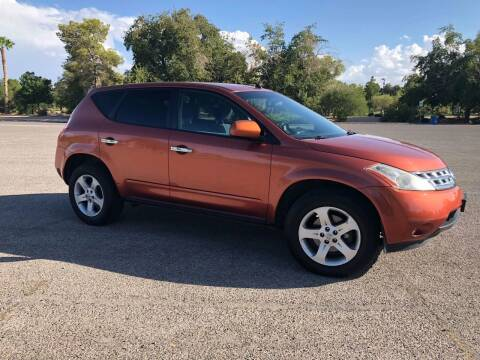 2005 Nissan Murano for sale at LUXE Autos in Las Vegas NV