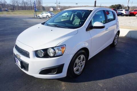 2016 Chevrolet Sonic for sale at MyEzAutoBroker.com in Mount Vernon OH