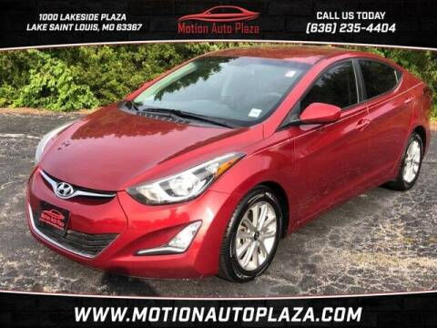 2016 Hyundai Elantra for sale at Motion Auto Plaza in Lakeside MO