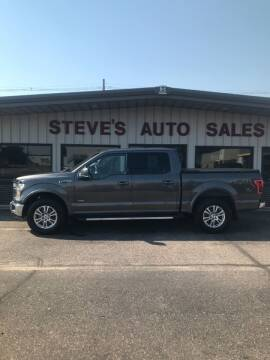 2016 Ford F-150 for sale at STEVE'S AUTO SALES INC in Scottsbluff NE
