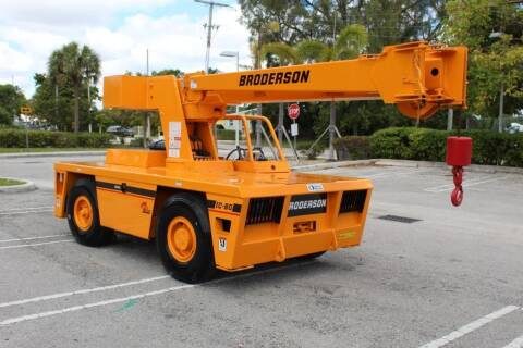 2009 Broderson IC-80-3G for sale at Truck and Van Outlet in Miami FL