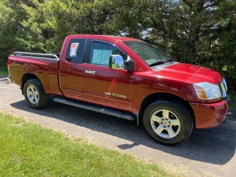 2005 Nissan Titan for sale at Kansas Car Finder in Valley Falls KS