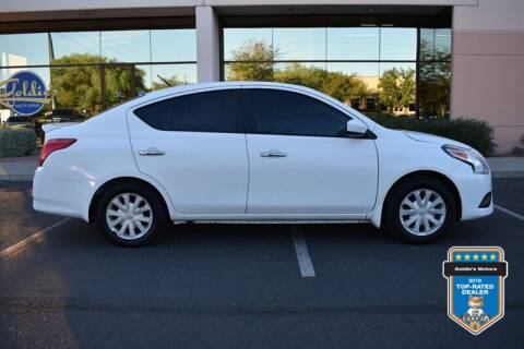 2017 Nissan Versa for sale at GOLDIES MOTORS in Phoenix AZ