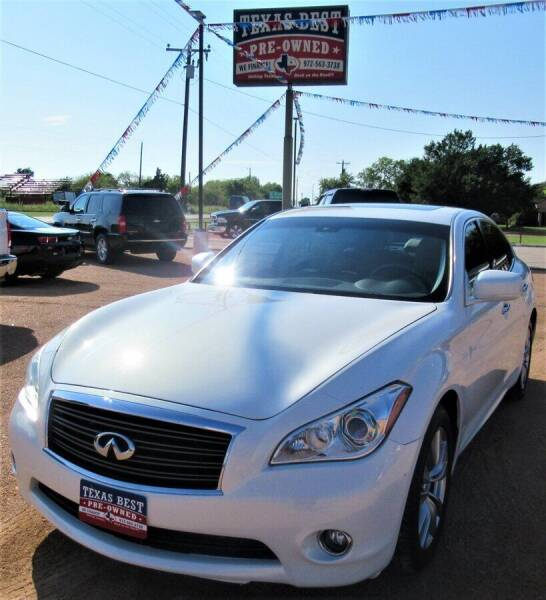 2012 Infiniti M37 for sale in Terrell, TX