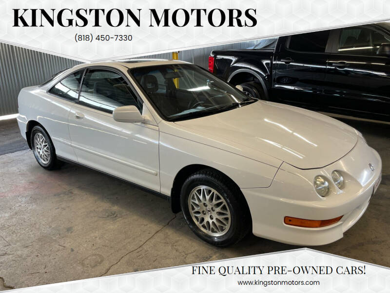 1998 Acura Integra for sale at Kingston Motors in North Hollywood CA