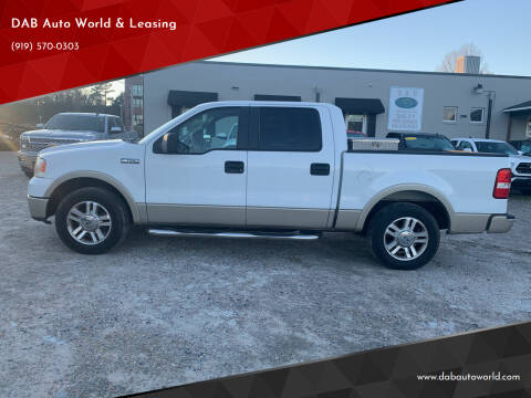 2008 Ford F-150 for sale at DAB Auto World & Leasing in Wake Forest NC