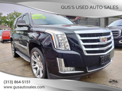 2016 Cadillac Escalade for sale at Gus's Used Auto Sales in Detroit MI