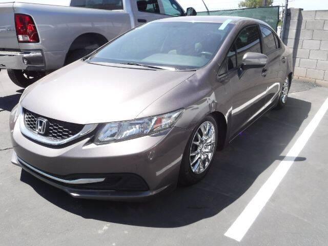 2015 Honda Civic for sale at Brown & Brown Wholesale in Mesa AZ