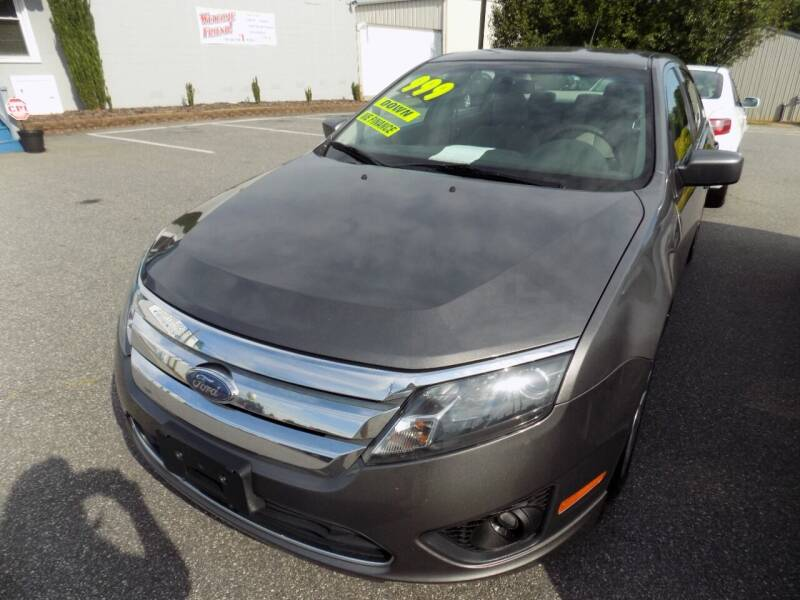 2010 Ford Fusion for sale at Pro-Motion Motor Co in Lincolnton NC