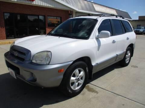 2006 Hyundai Santa Fe for sale at Eden's Auto Sales in Valley Center KS
