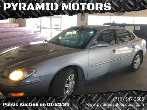 2005 Buick LaCrosse for sale at PYRAMID MOTORS - Pueblo Lot in Pueblo CO