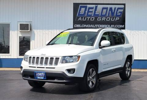 2016 Jeep Compass for sale at DeLong Auto Group in Tipton IN