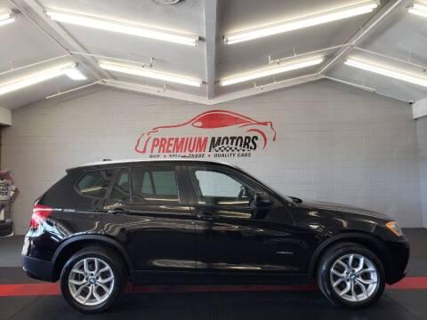 2011 BMW X3 for sale at Premium Motors in Villa Park IL