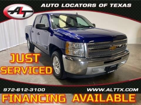 2013 Chevrolet Silverado 1500 for sale at AUTO LOCATORS OF TEXAS in Plano TX
