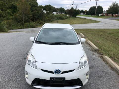 2012 Toyota Prius for sale at SHAN MOTORS, INC. in Thomasville NC